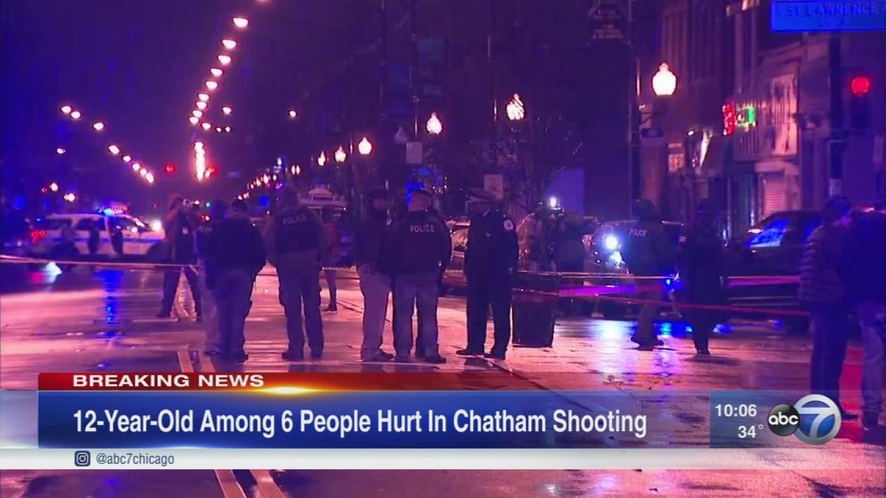 At lease 6 injured in Chatham shooting