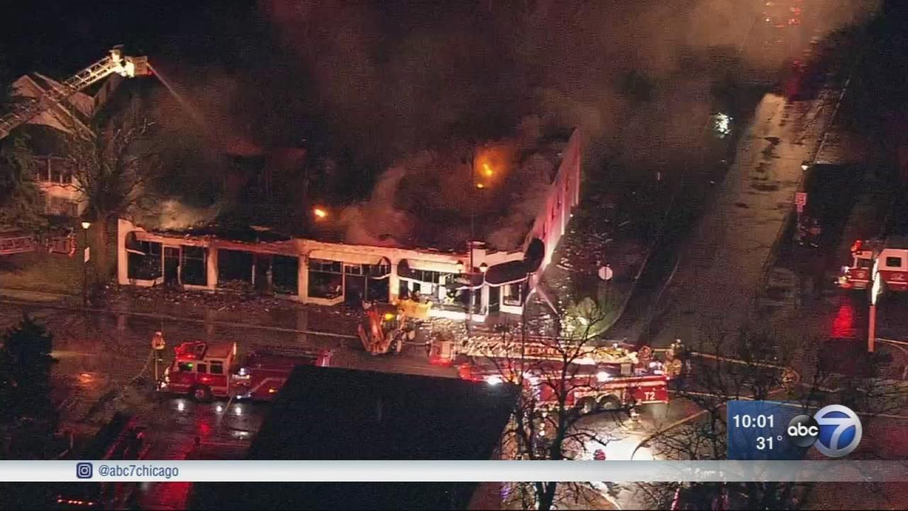 Elmhurst bridal shop destroyed in fire