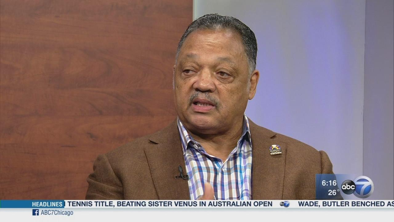 Rev. Jackson: Trump should come to Chicago with a plan