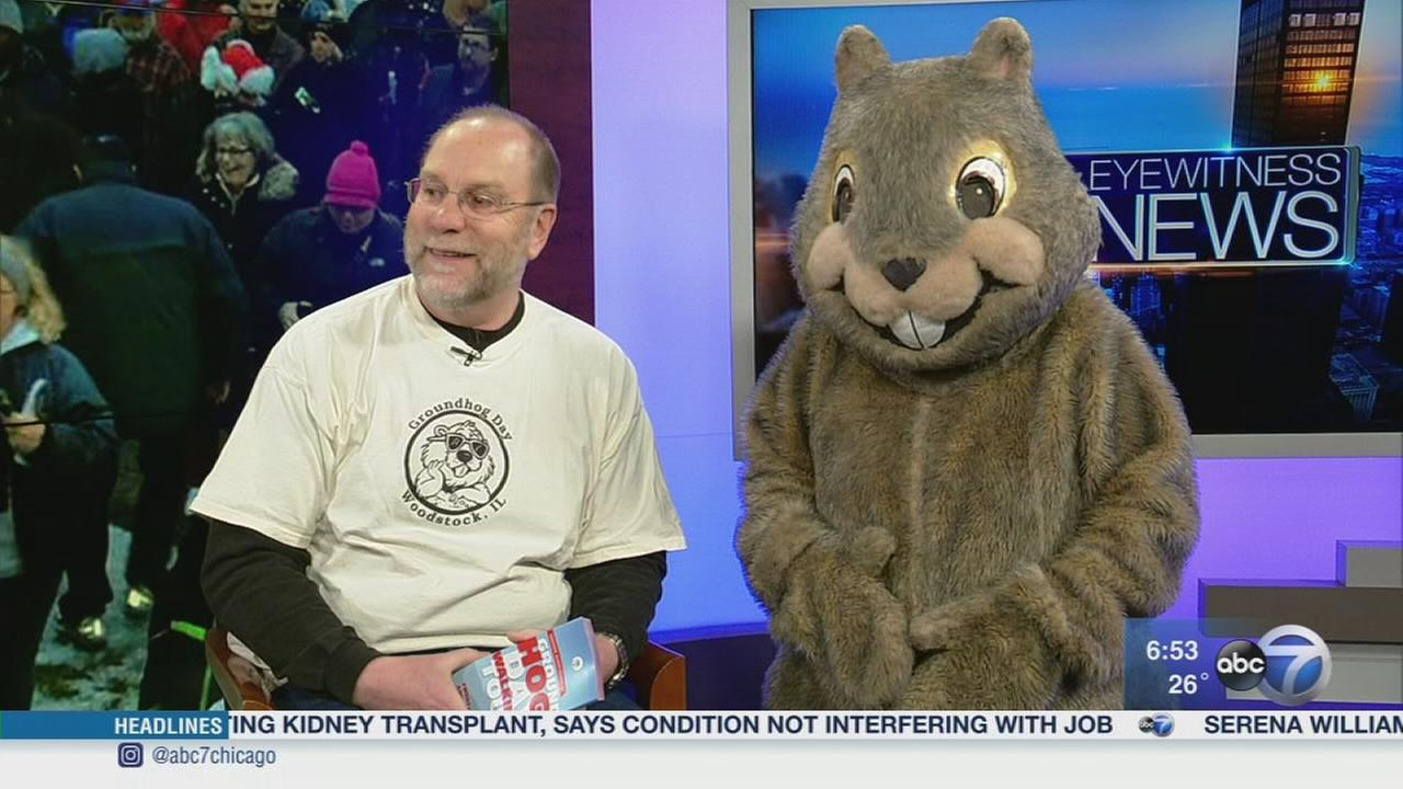 Woodstock Willie ready for Groundhog Days