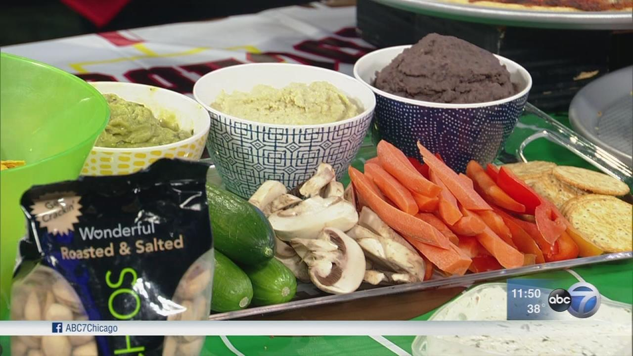 How to make your Super Bowl party healthier