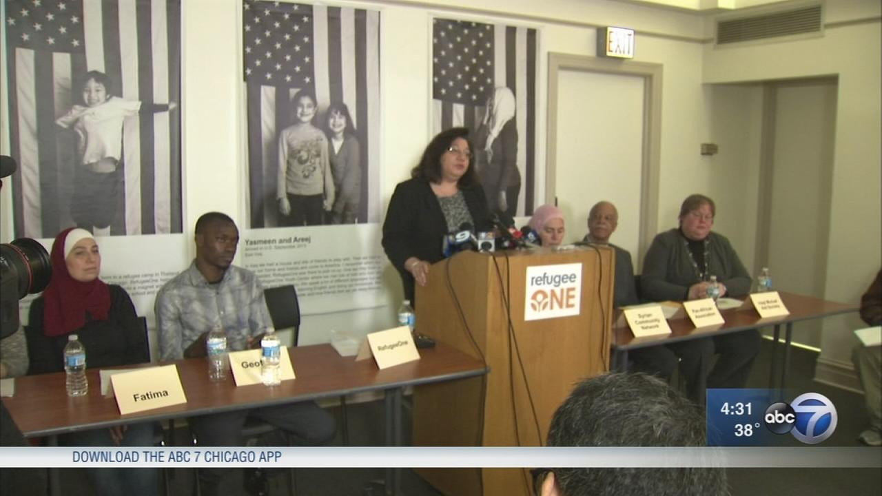 Chicago refugee support groups denounce Trump?s travel ban