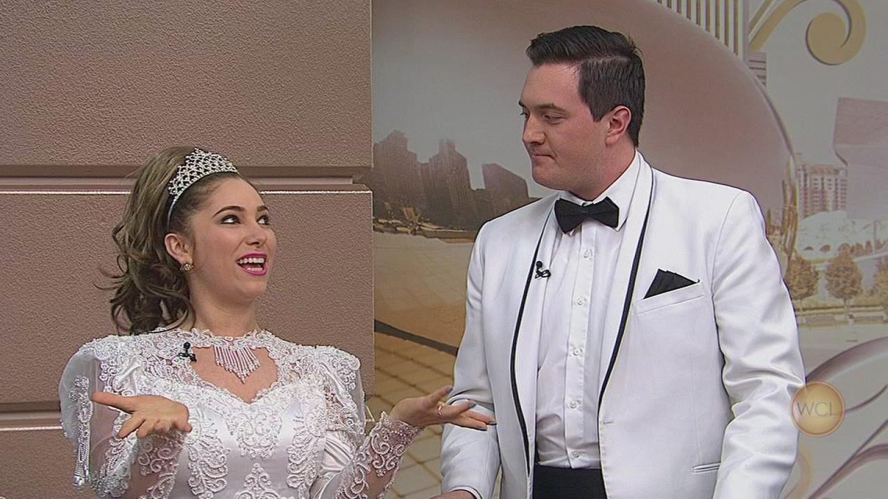 Stars of Tony N Tinas Wedding stopped by WCL