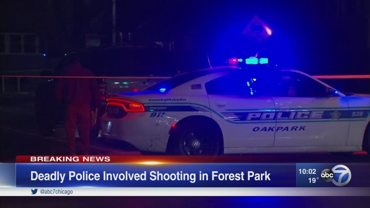 Fatal police-involved shooting in Forest Park