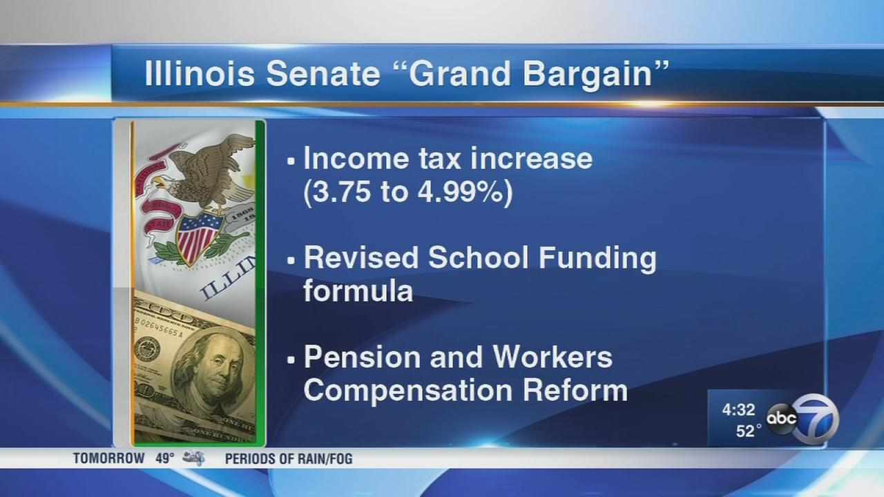 IL senators work on budget deal
