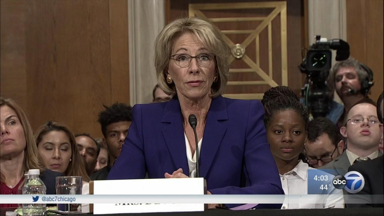 Betsy Devos confirmed as US Secretary of Education is historic vote