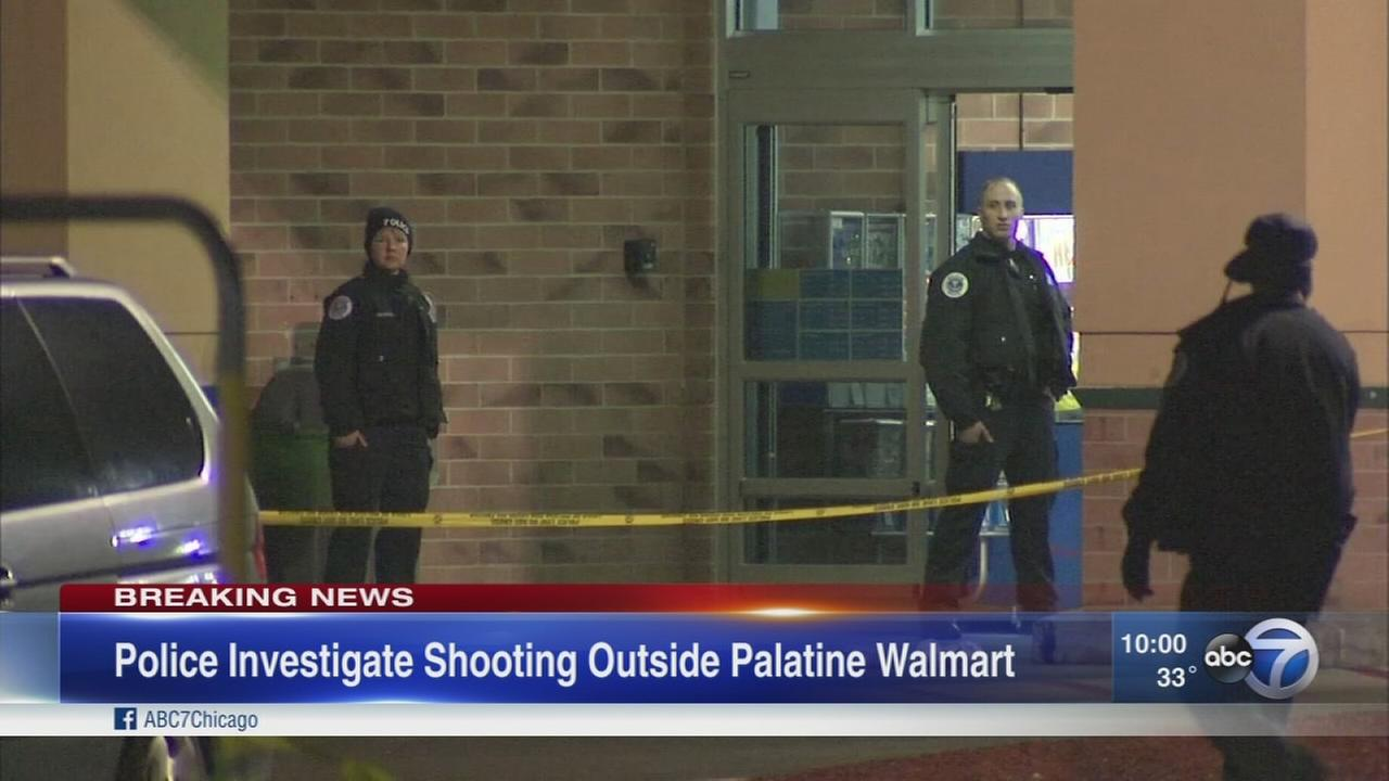 walmart com police man found shot in palatine walmart parking lot