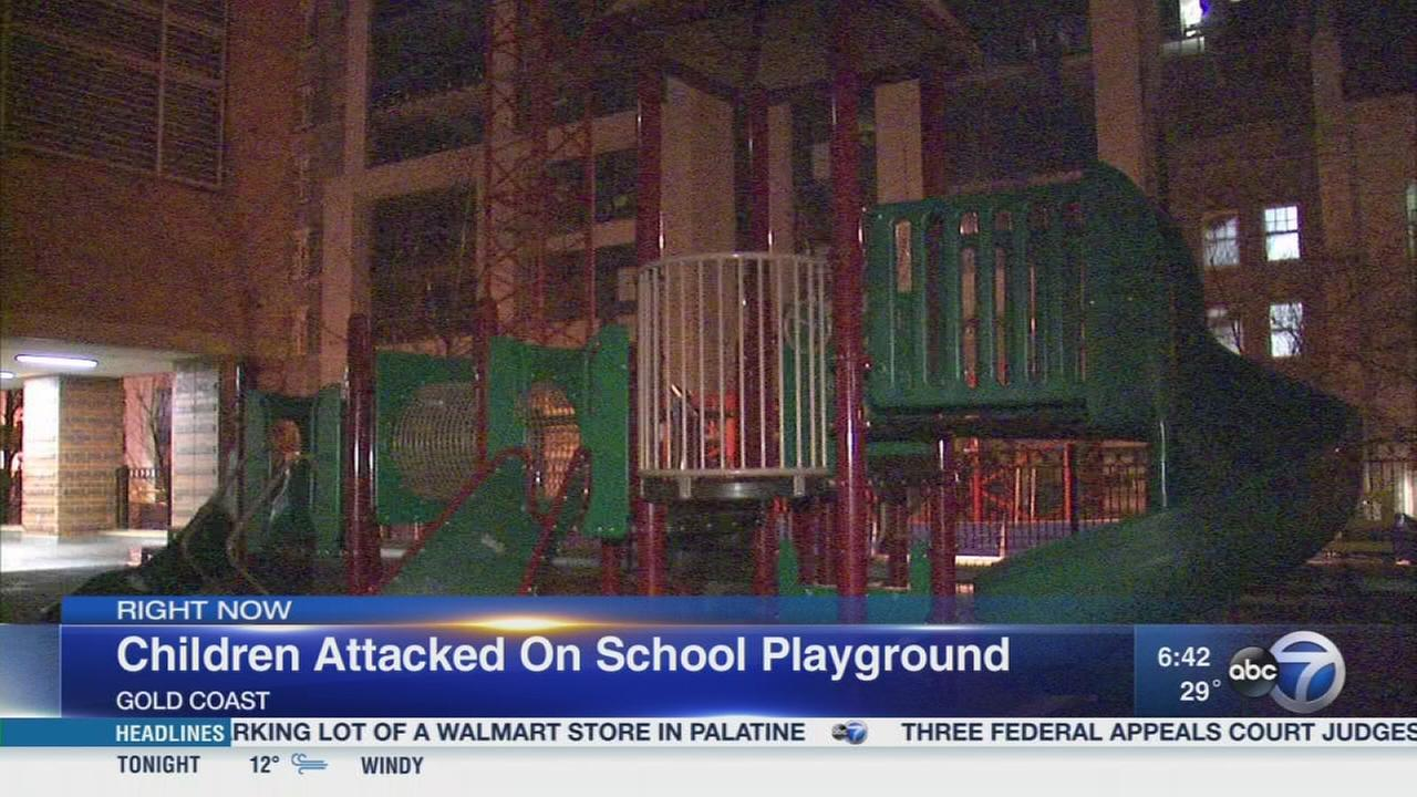 Students attacked on playground