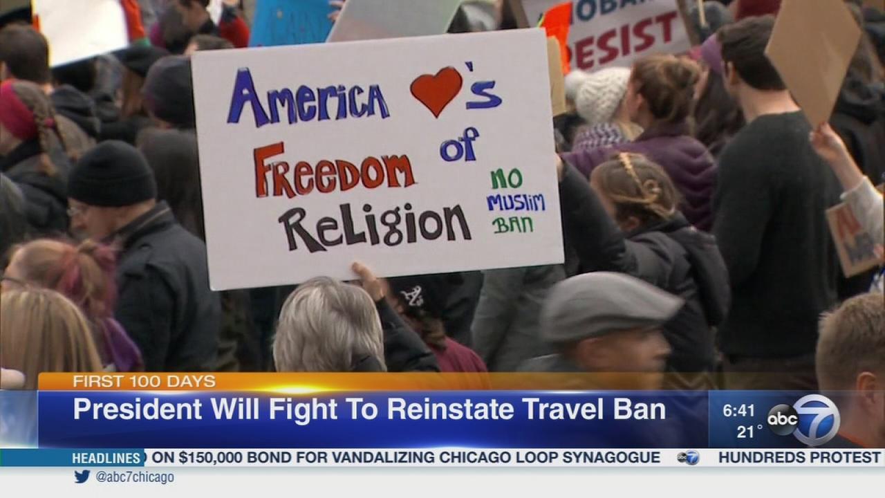Trump travel ban on hold