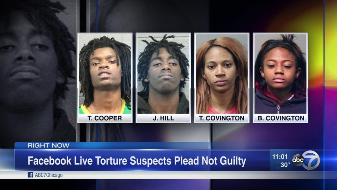 Torture suspects plead not guilty