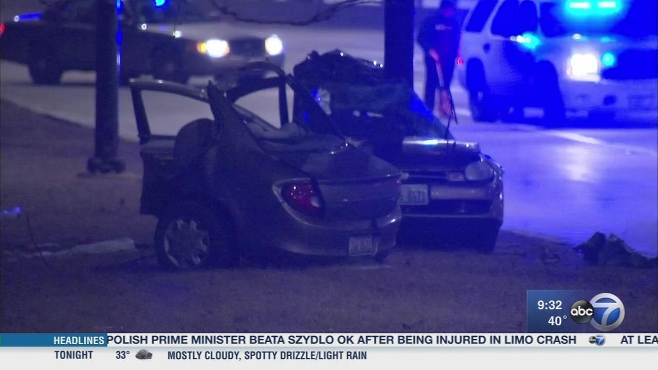 1 killed in possible road rage crash on Lake Shore Drive