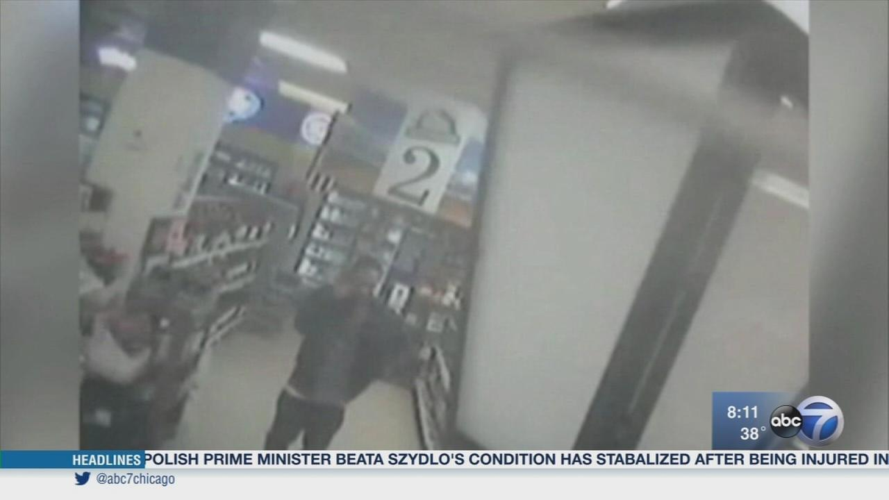 Wis. thief sneaks champagne bottle in his pants
