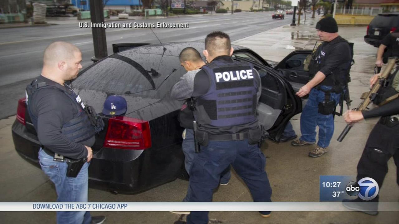 ICE raids nab hundreds nationwide