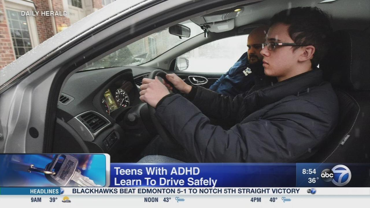 Daily Herald: Teenage drivers with ADHD