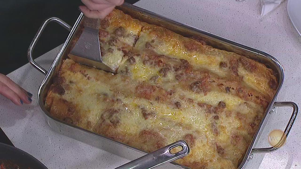 Delicious Tex Mex lasagna recipe