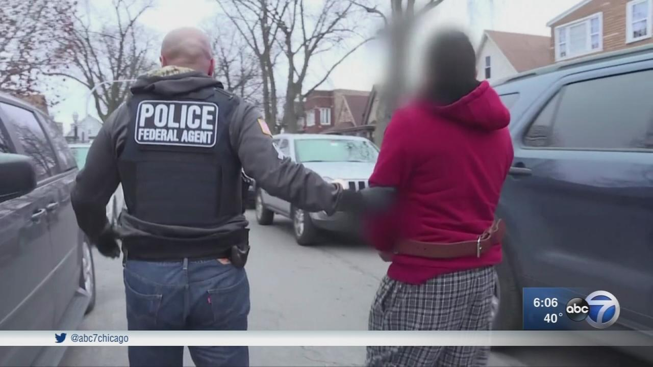 Chicago ICE raids nab nearly 50