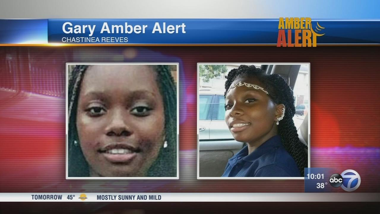 Amber Alert issued for 15-year-old Gary girl