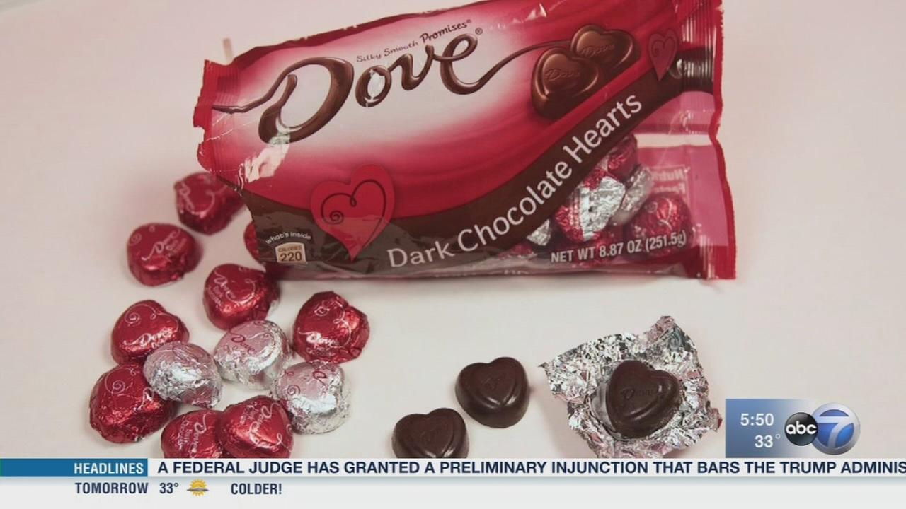 Consumer Reports: 100 calories of Valentine candy