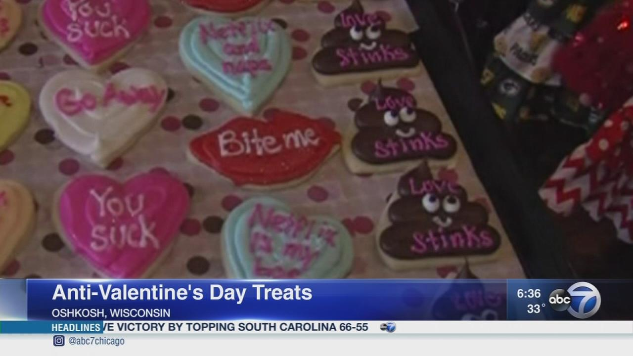 Bakery offers anti-Valentines Day treats