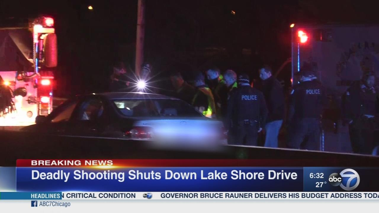 Deadly shooting closes Lake Shore Drive