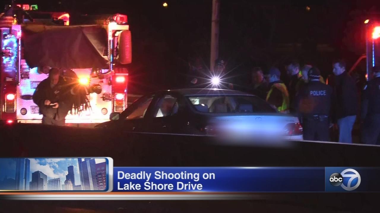 Driver fatally shot on lake shore drive near fullerton avenue
