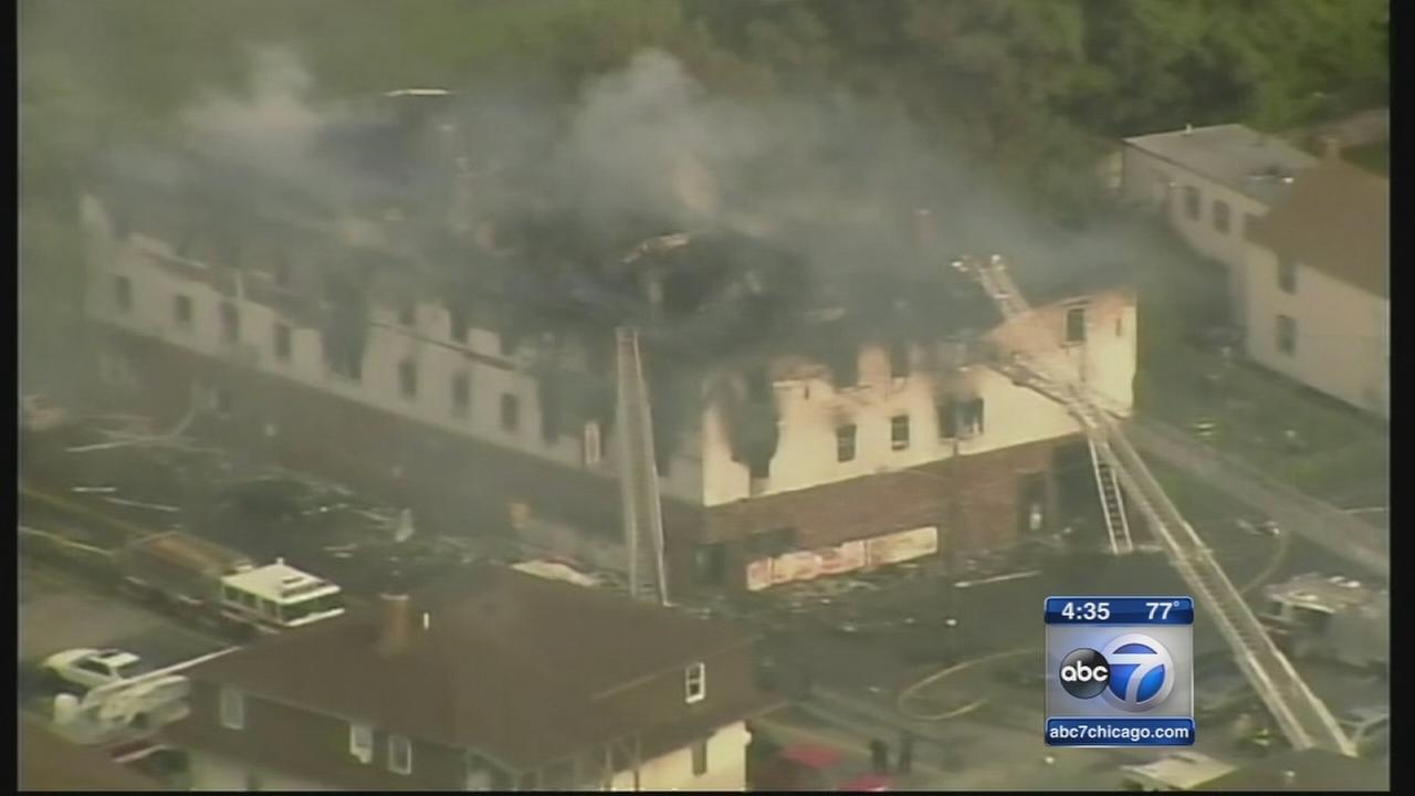 Massachusetts apartment fire kills 4 adults, 3 children