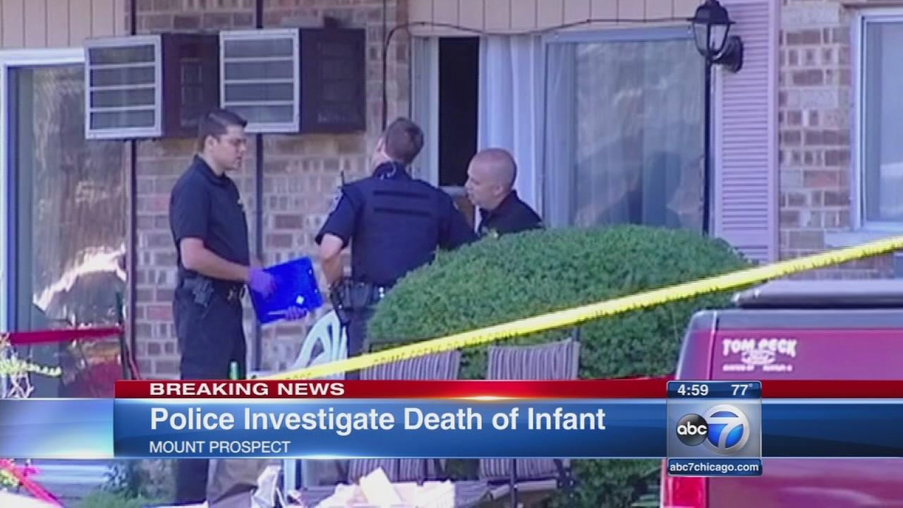 Baby found dead in Mt. Prospect apartment