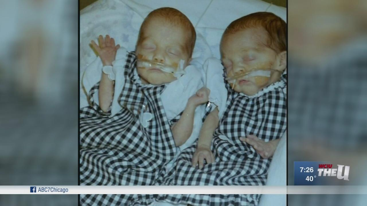 Aurora twins to donate 100 blankets to NICU they were born in