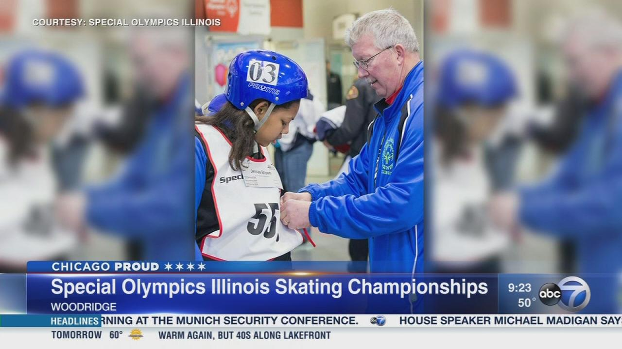 Woodridge hosts Special Olympics Skating Championships