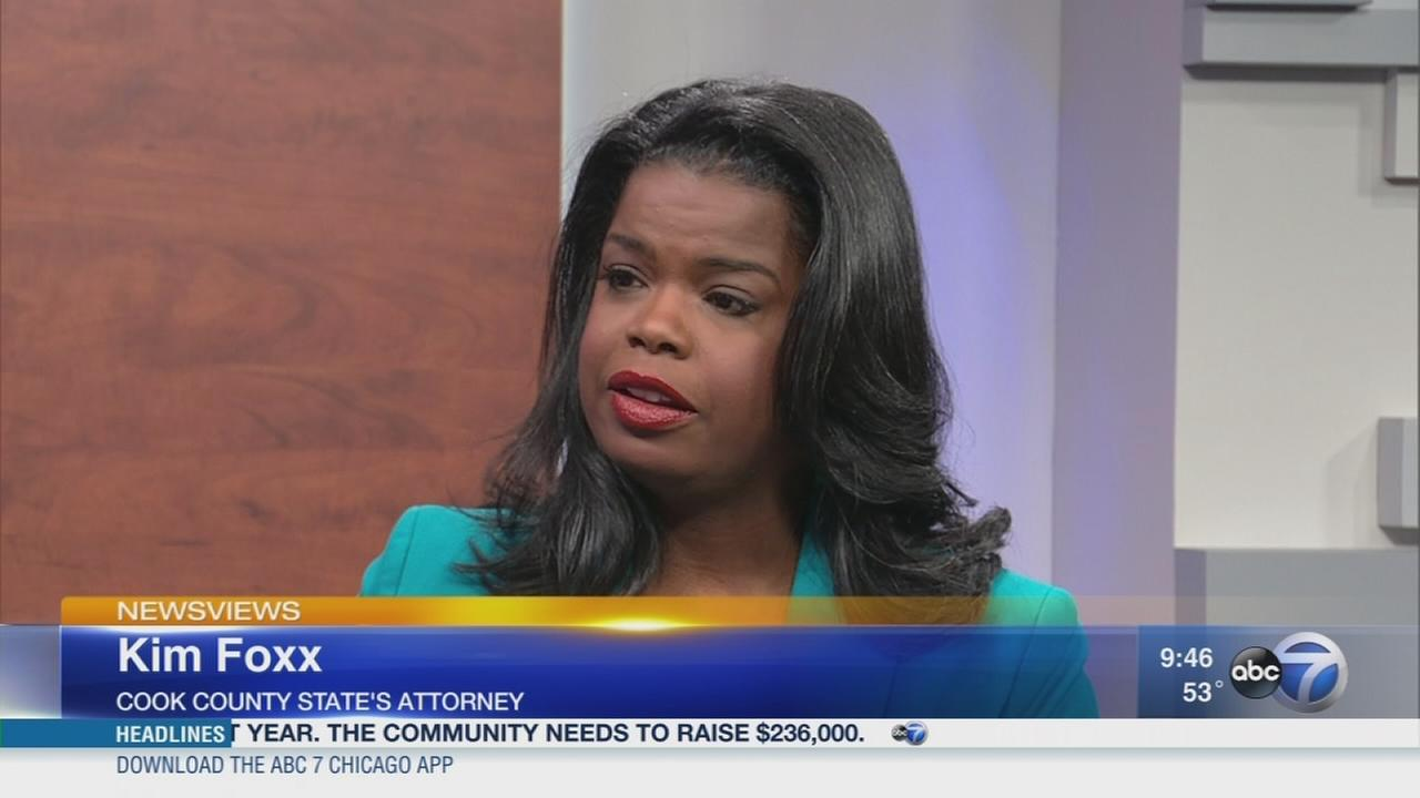 Newsviews Part 1: Kim Foxx