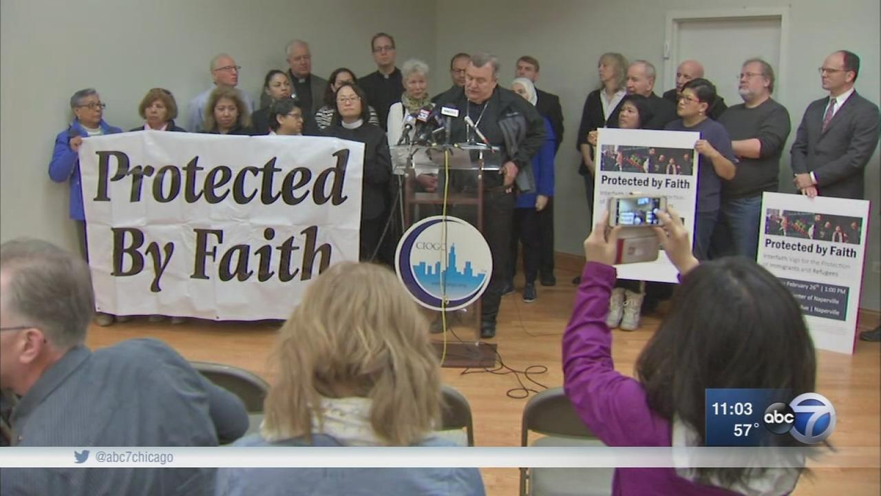 Faith leaders pledge to stand with immigrants