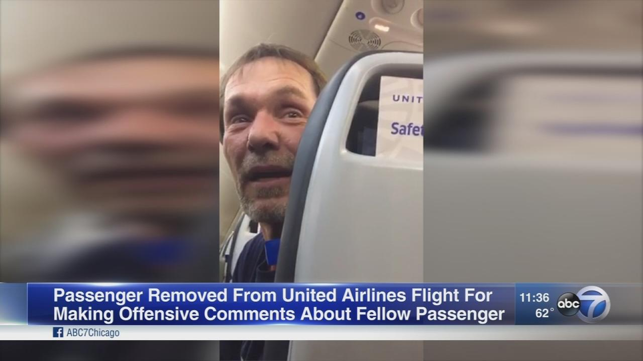 Passenger removed from flight