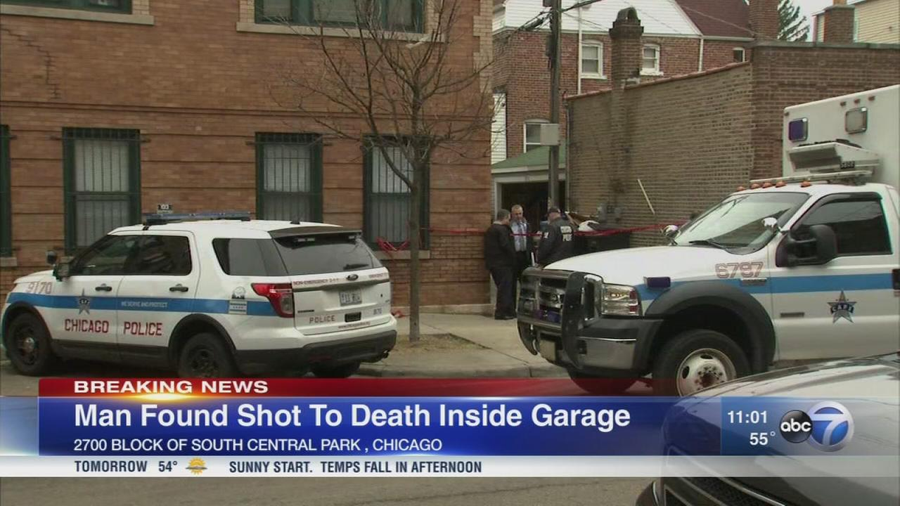 Man found shot to death inside Little Village garage