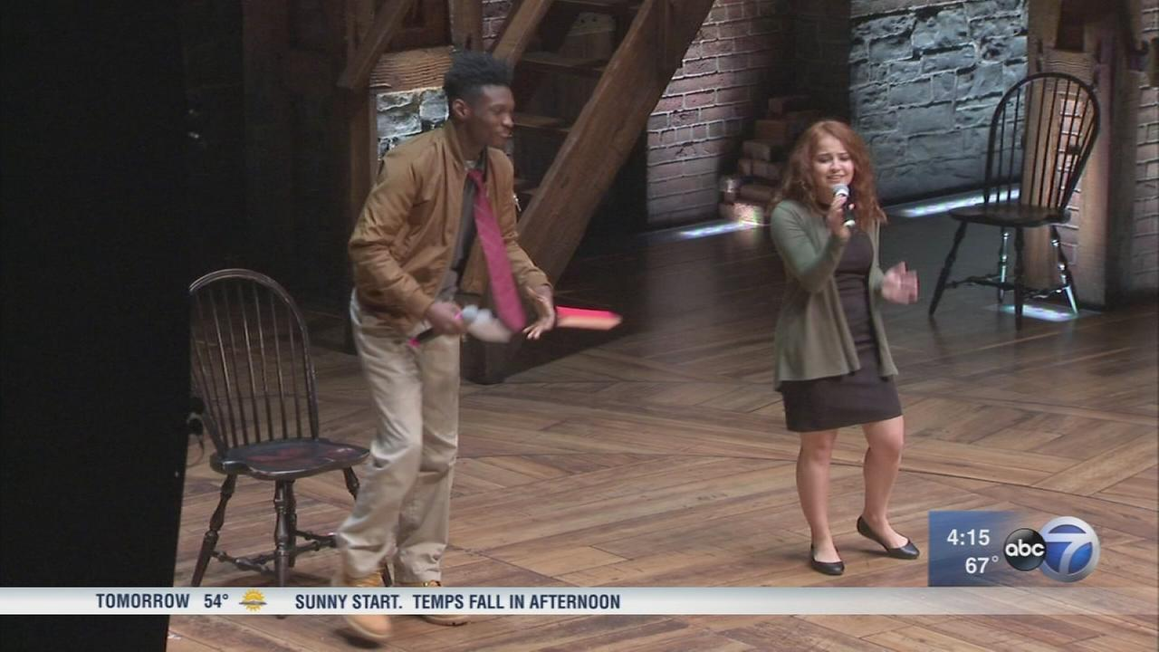 CPS students get the Hamilton experience