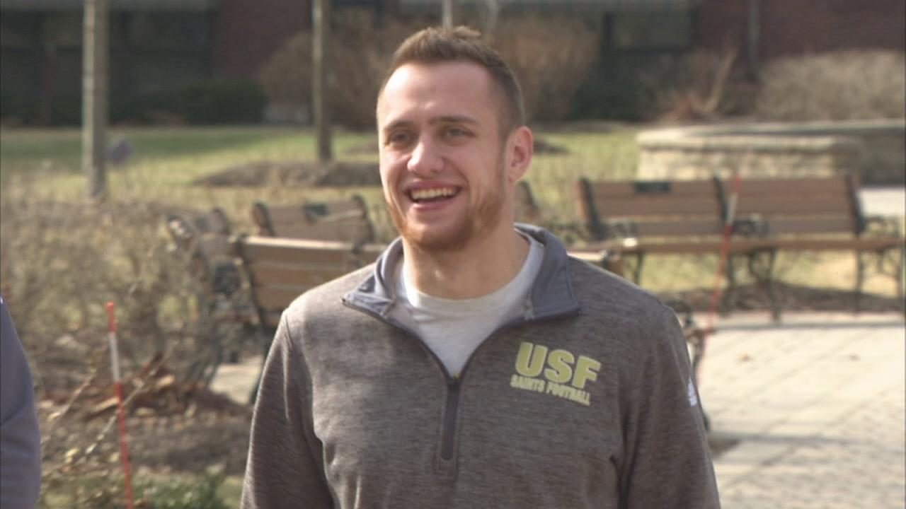 St. Francis University linebacker comes out as gay
