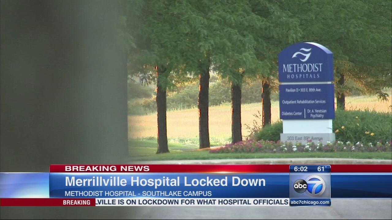 Methodist Hospital on lockdown in Merrillville