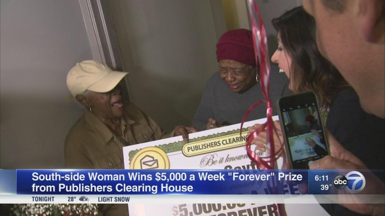 South side woman wins $5,000 a week for life