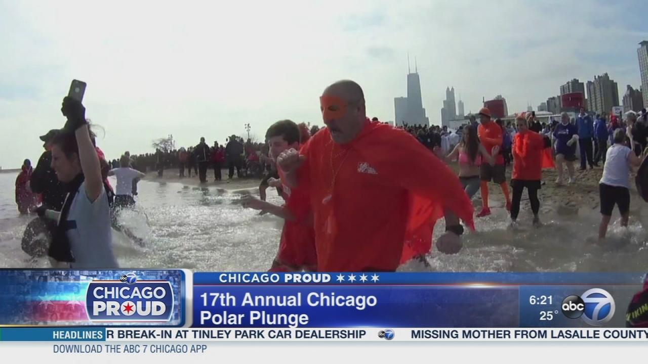Alderman makes challenge for Chicago Polar Plunge
