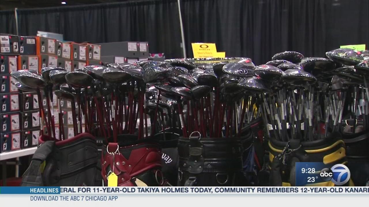 Get into the swing of things at the Chicago Golf Show