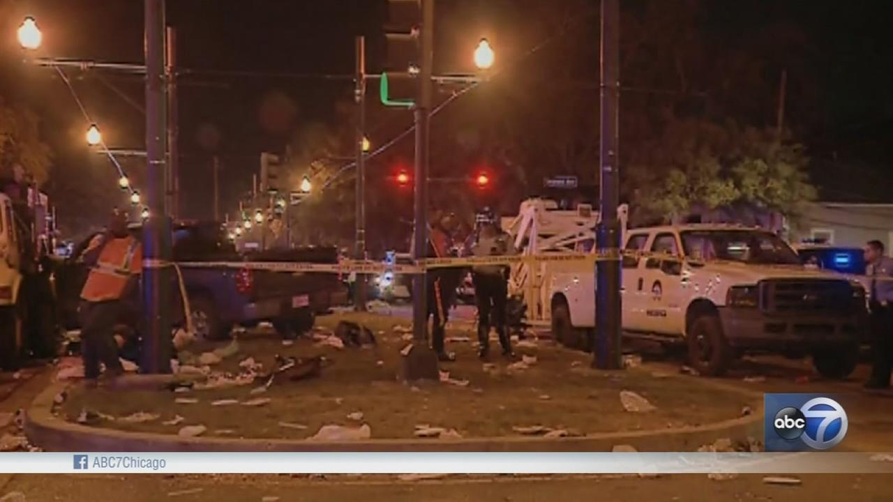 28 injured when car plows into crowd in New Orleans