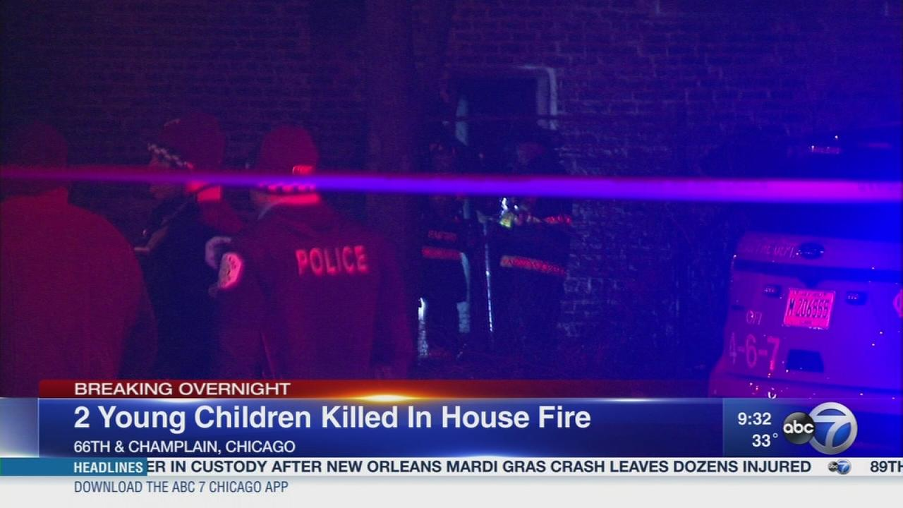 2 girls killed in Woodlawn fire