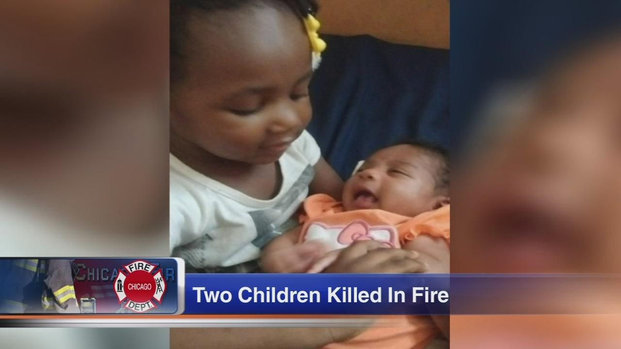 2 young girls killed, 4 injured in Woodlawn fire