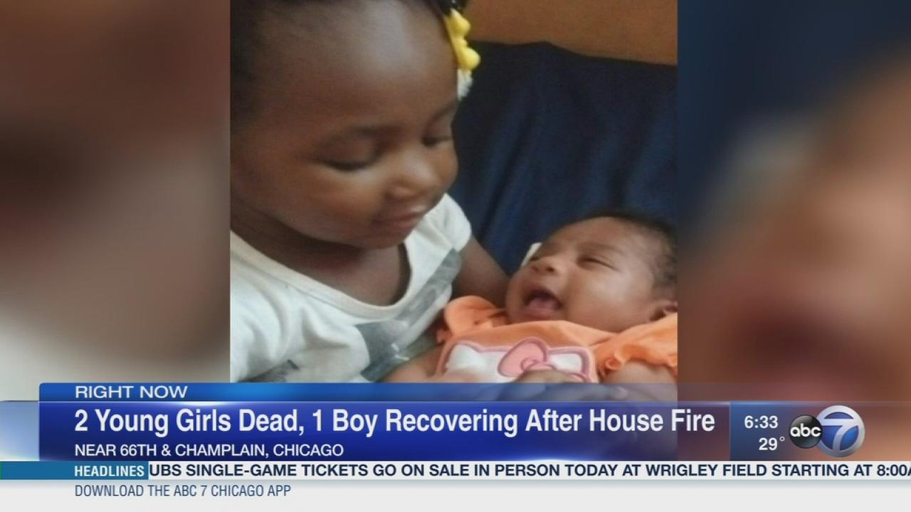 Boy, 6, remains critical after Woodlawn fire that killed 2 girls