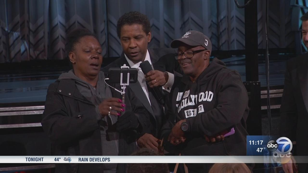 Chicago couple takes center stage at Oscars