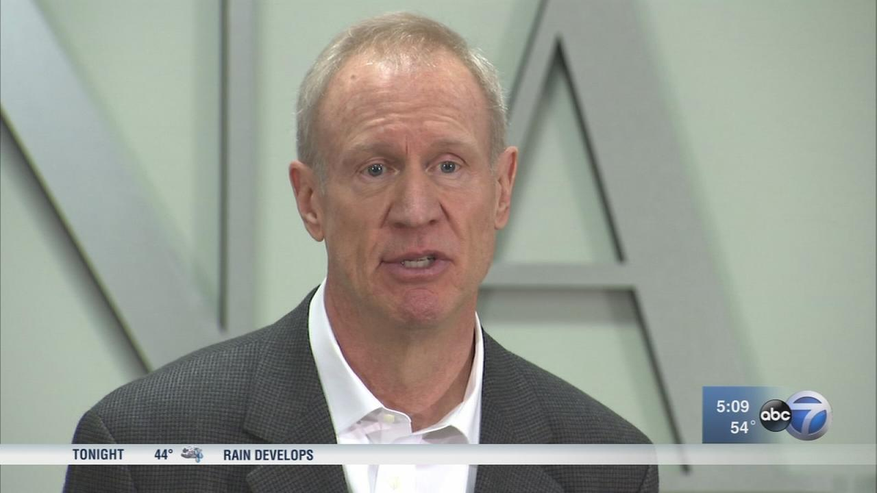 Rauner no-show at Trump governors events