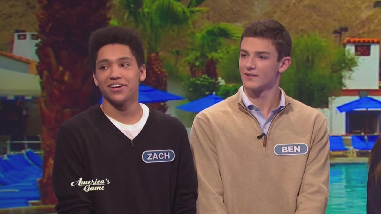 New Trier students on Wheel of Fortune