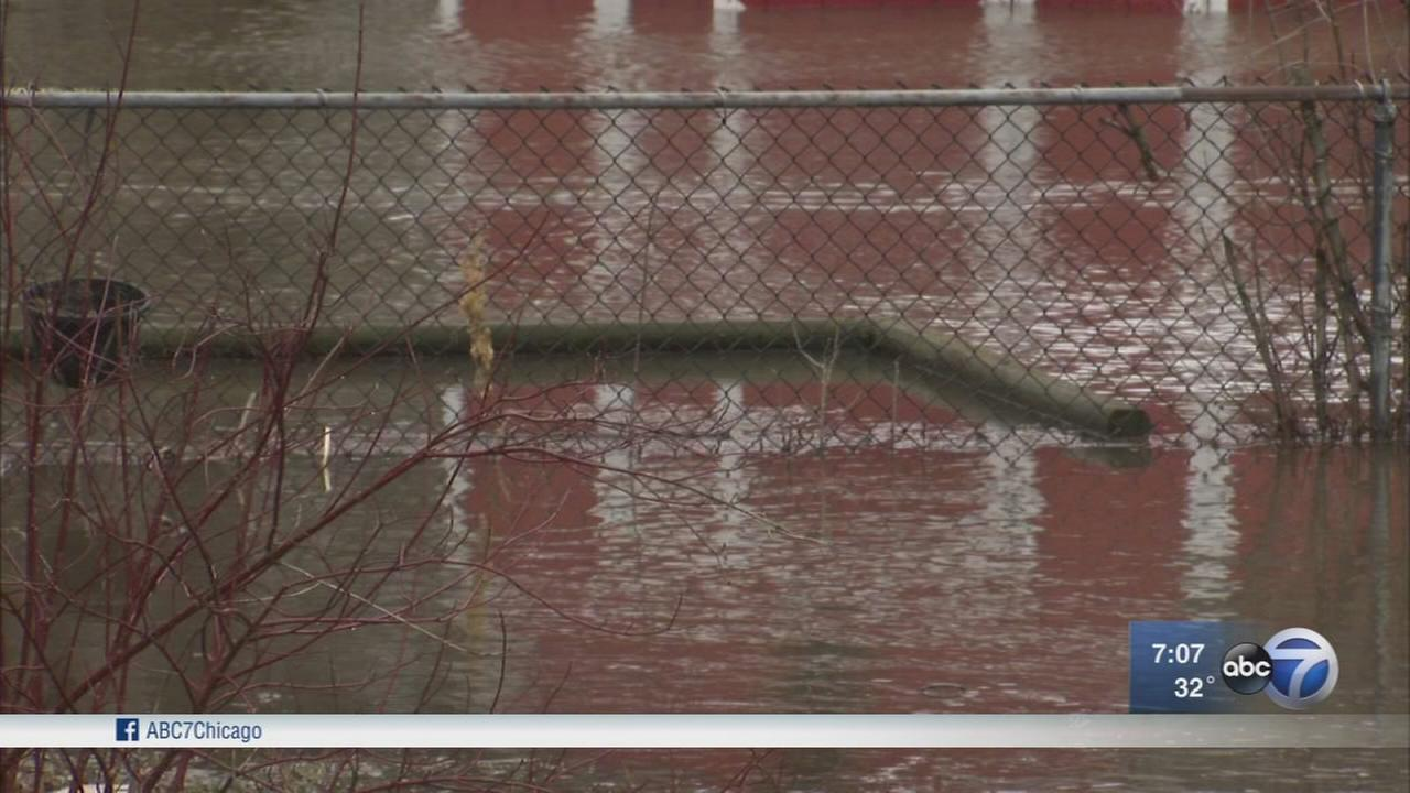 Hazel Crest residents knee deep in sewage after storms