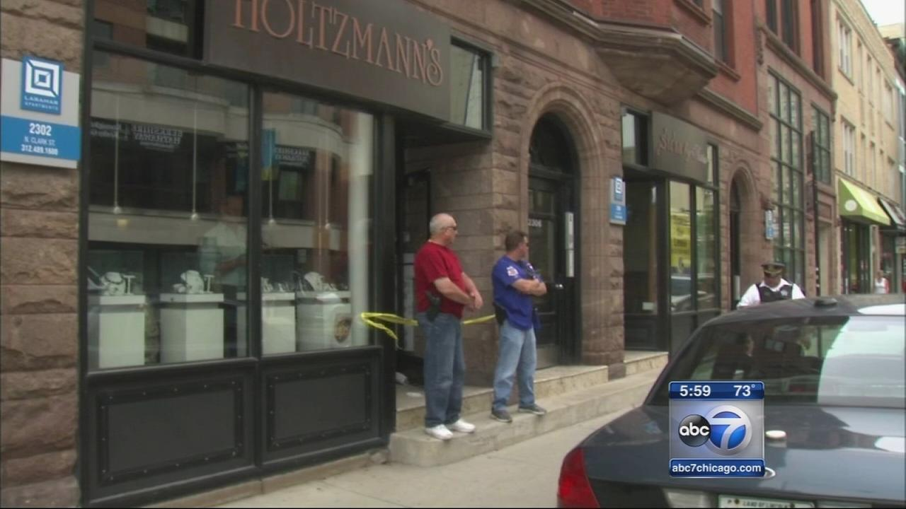 Lincoln Park jewelry store robbed