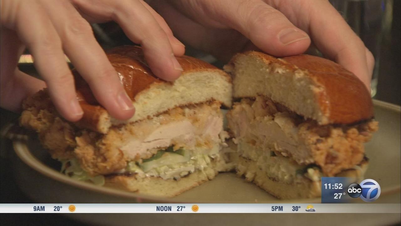 West Town restaurant creates twist on chicken sandwich