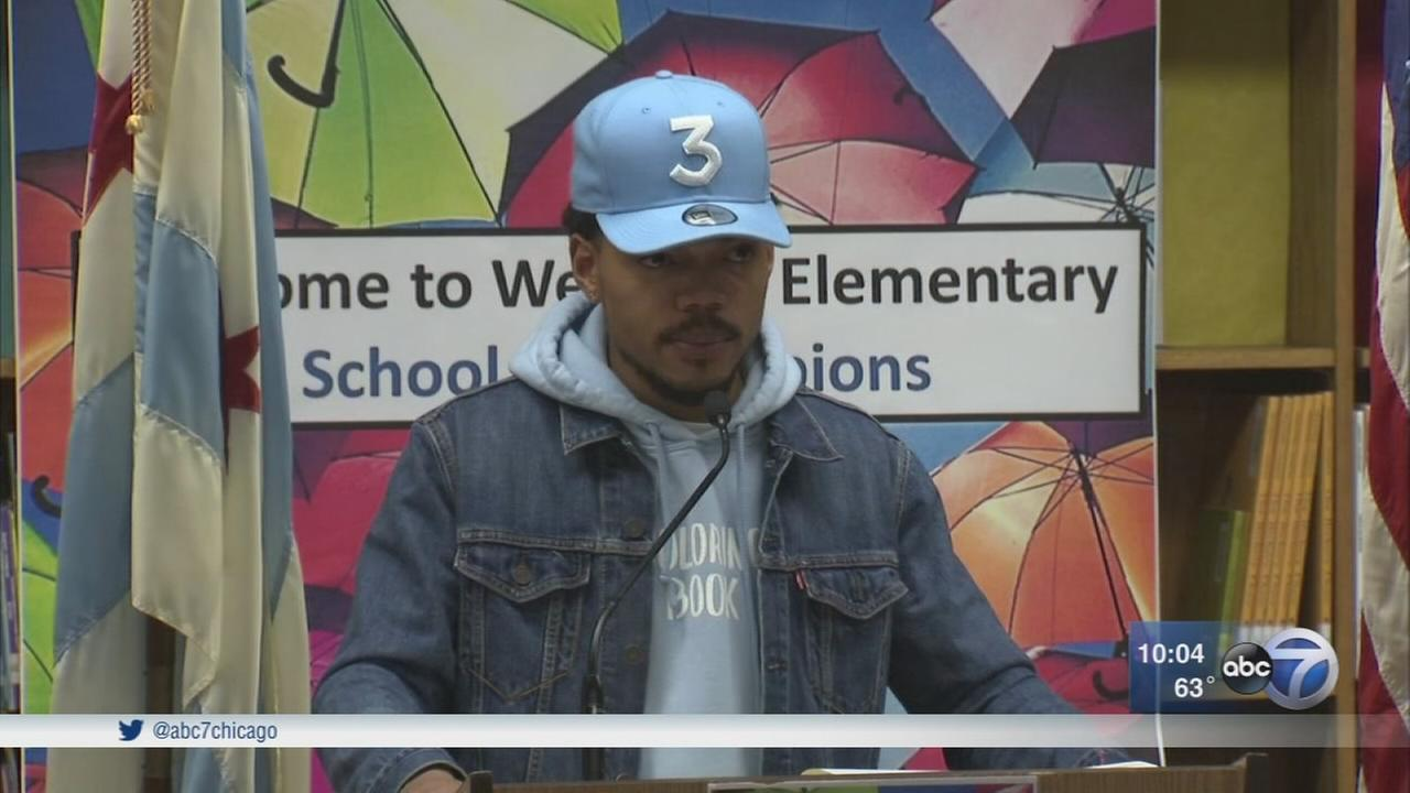 Watch Chance the Rapper Announce $2.2 Million Fund for Chicago Schools